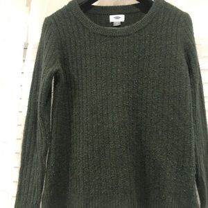 Dark green Forever 21 knit top